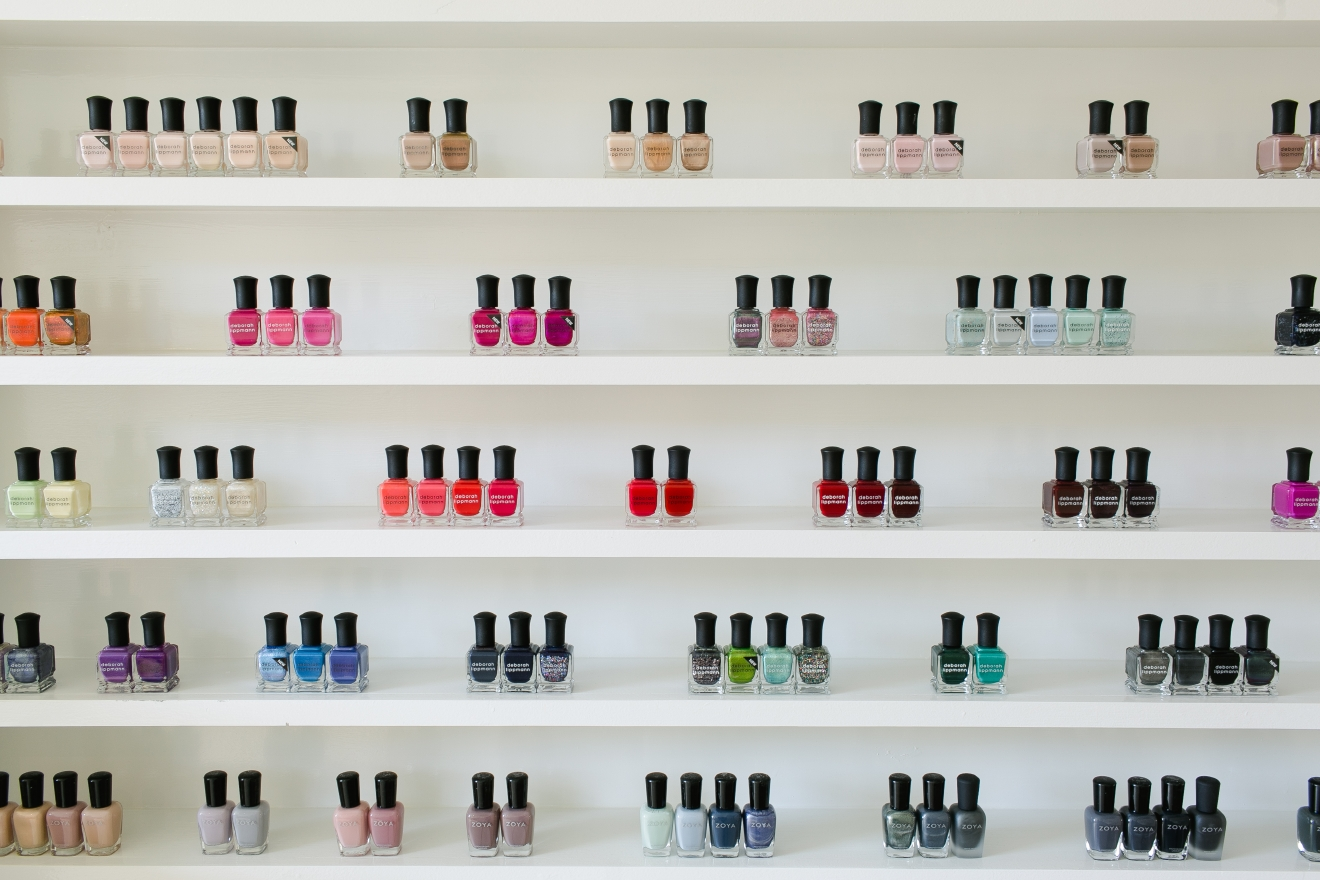 Keeping your nails trimmed and polished shouldn't come at the expense of your health, or the well-being of the environment. Check out our our five favorite salons specializing in eco-friendly, non-toxic and even waterless treatment. (Image: Courtesy Varnish Lane)