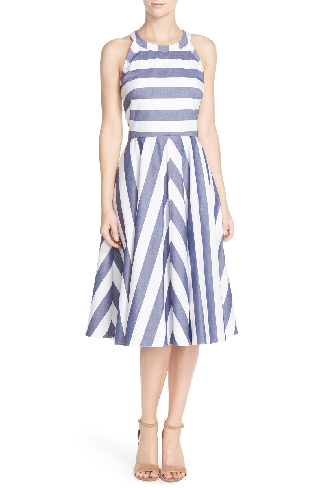 Cotton Fit & Flare Dress, $158                                    (Image: Nordstrom)