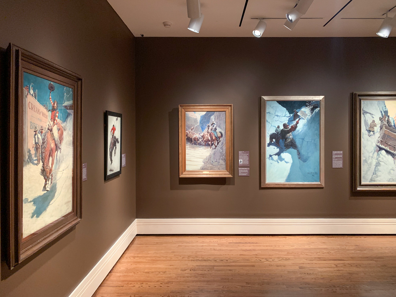 New Perspectives was co-organized by the Brandywine River Museum of Art in Chadds Ford, Pennsylvania, and the Portland Museum of Art in Maine. It is showing at the Taft Museum of Art from February 8 to May 3, 2020. / Image: Phil Armstrong, Cincinnati Refined // Published: 2.9.20