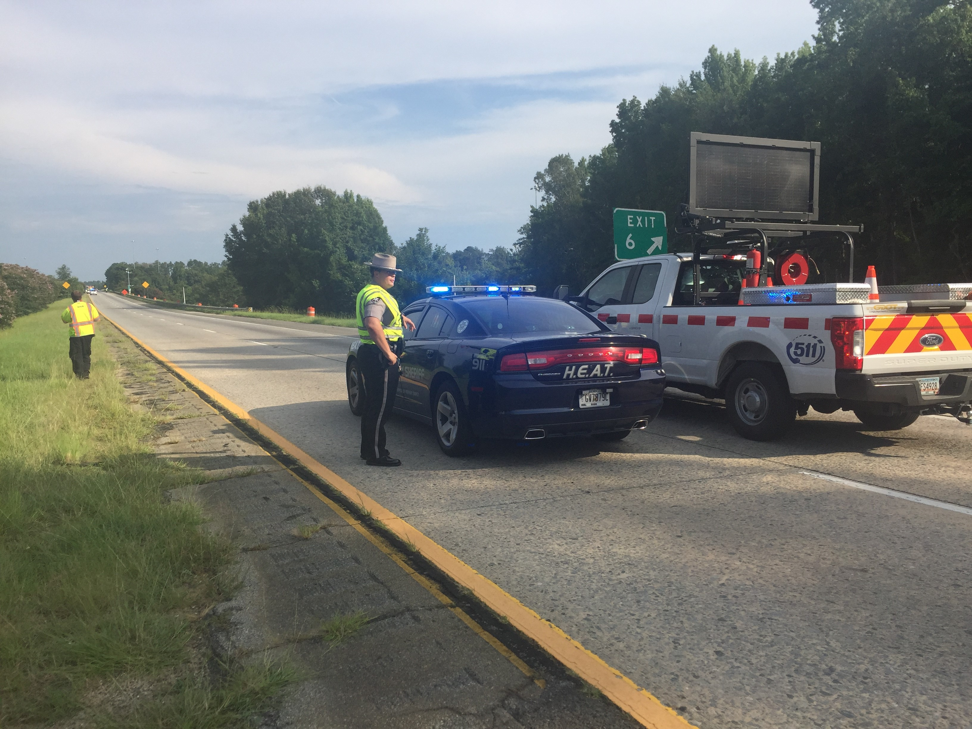 Fatal accident on Interstate 16 / Brittany Collins (WGXA)