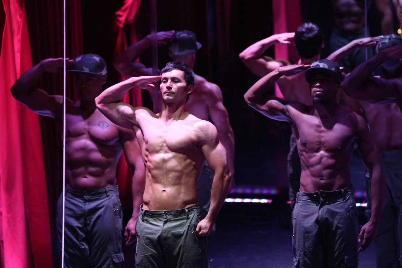 If you're the type of person who likes to mop up their post-breakup tears with mimosas and six-pack abs, call it quits outside of Sax on a Sunday morning, then head inside to meet your friends for brunch and an all-male burlesque show. (Amanda Andrade-Rhoades/DC Refined)