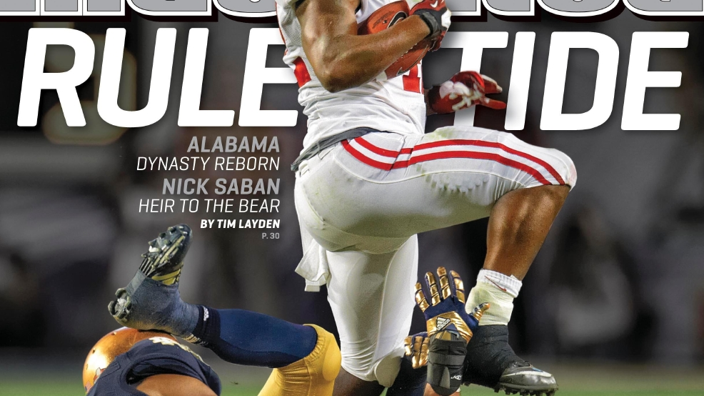 Eddie Lacy Sports Illustrated Bama's Eddie Lacy on t...