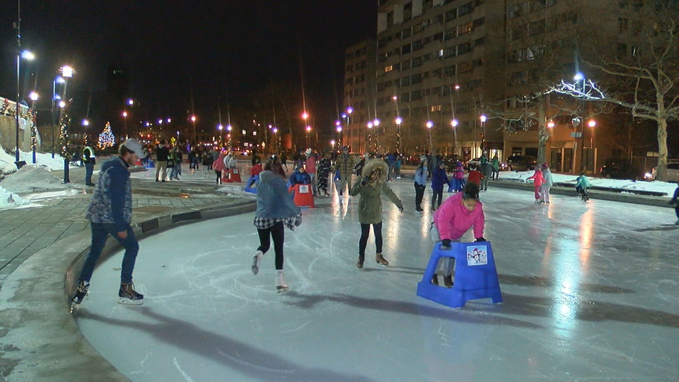 Free Ice Skating In Downtown Rochester Extended Thanks To Wegmans Donation Wham