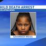 Mother charged with murder in 2-year-old child's death