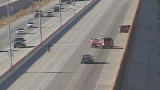 Developing: Man seriously injured in Loop 375 crash, westbound lanes closed