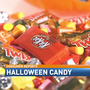 100 calories of Halloween candy