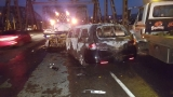 Witness: Woman fled fiery crash on I-5, leaving elderly woman and child behind