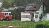 Crews respond to abandoned house fire in Nedrow