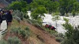 2 women survive after car plunges into the Carson River