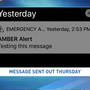 State investigating AMBER Alert message sent in error
