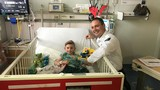 Ada County Paramedics spread holiday cheer to hospitalized children