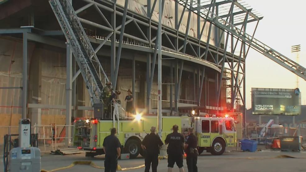 Crews Put Out Small Roof Fire At Ud Arena Wrgt
