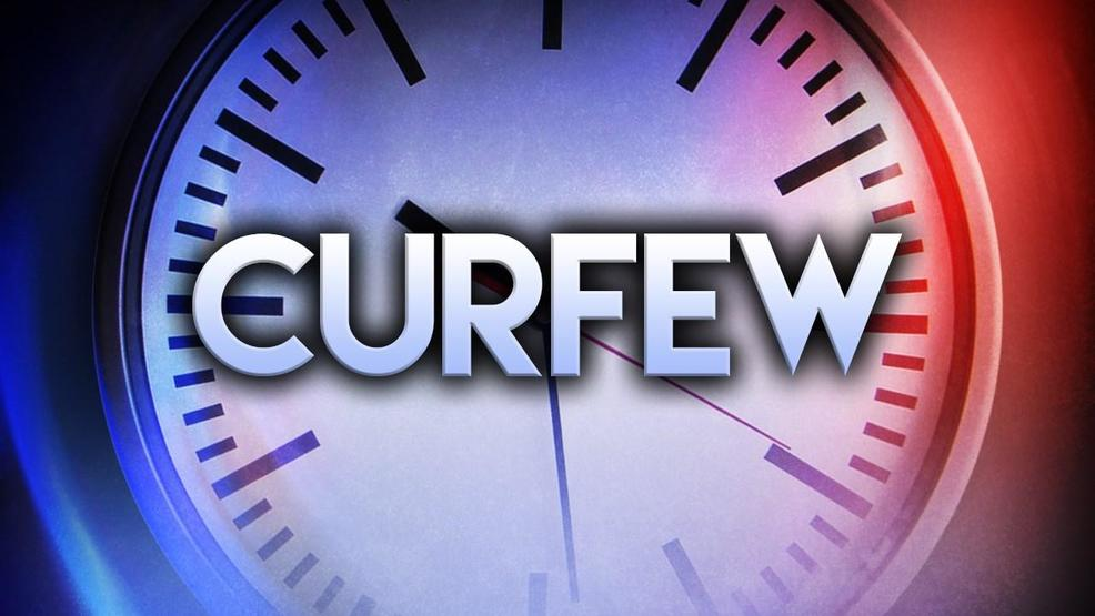 Current teen curfew charleston sc