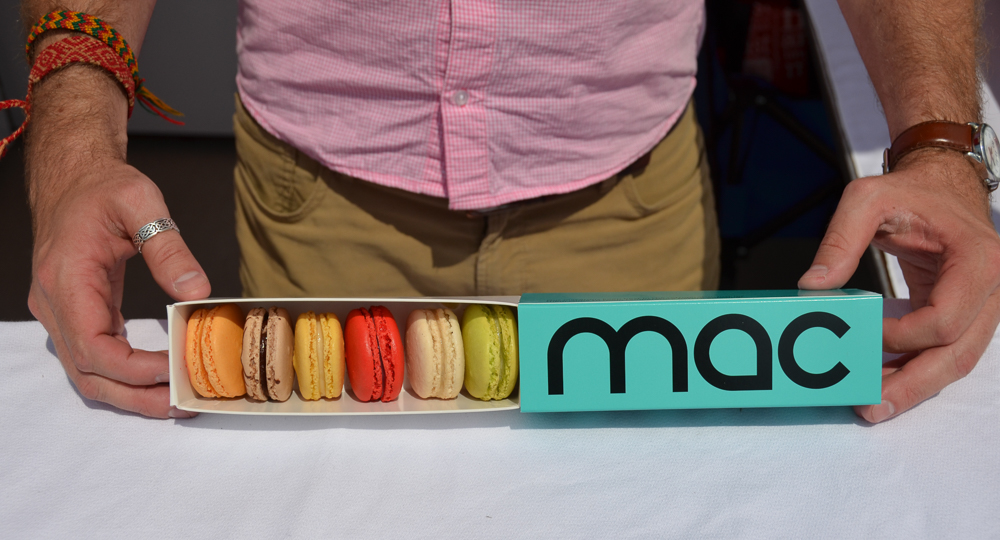 Macarons from The Macaron Bar (Image: Sherry Lachelle Photography)