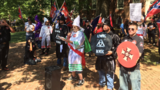 KKK rally in Va. to protest Confederate statue removal; over 1,000 rally to protest KKK