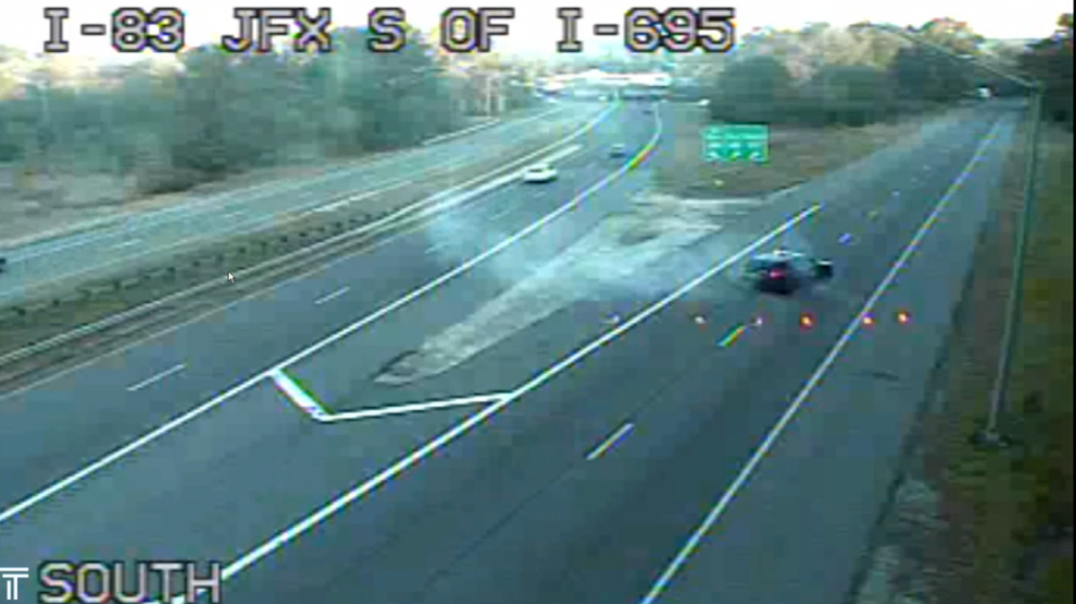 Police believe impaired driving may have contributed to wrong way crash on I-695 near I-83