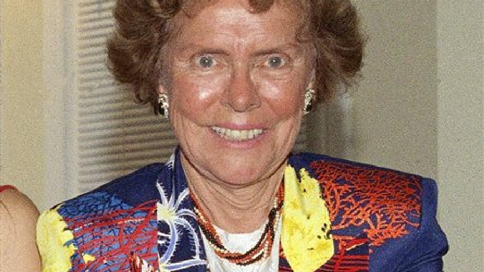 This July 20, 1992 file photo shows Eileen Ford, of Ford Models, Inc., in New York. Ford, who shaped a generation's standards of beauty as she built an empire and launched the careers of Candice Bergen, Lauren Hutton, Jane Fonda, died Wednesday, July 9, 2014. She was 92.