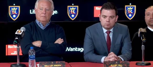 Real Salt Lake has named Freddy Juarez as its new head coach and Elliot Fall as its new general manager. (Photo: KUTV)