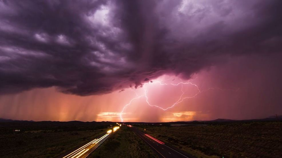 Watch: Storm chaser's dramatic summer-long pursuit of the Arizona monsoon season