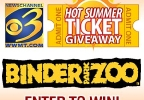 Hot Summer Ticket Giveaway - Binder Park Zoo