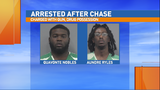 Gainesville Police: 2 men arrested on gun, drug charges after chase, struggle