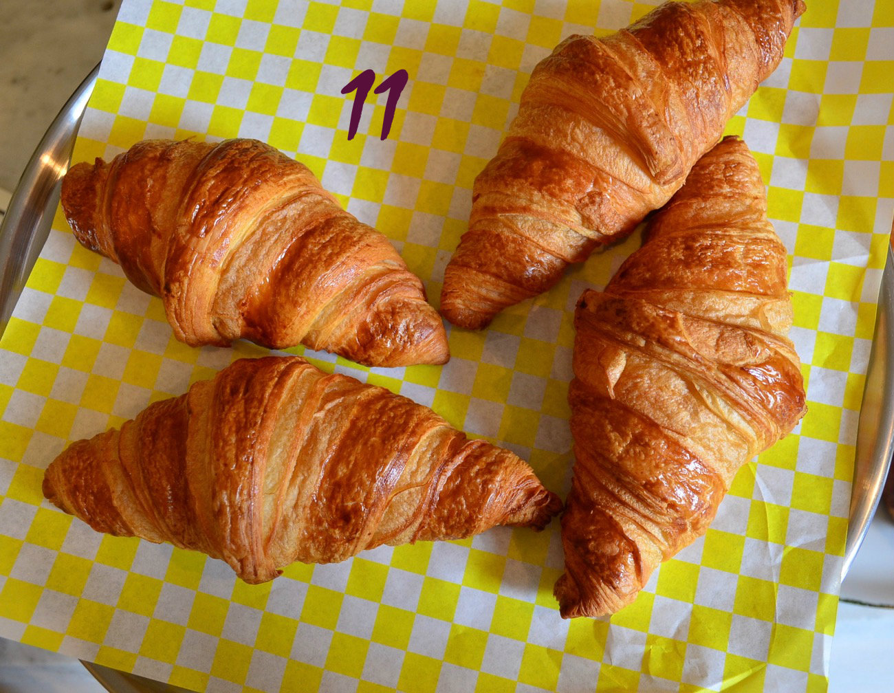 #11 - The best croissants in the city can be found at this adorable Madisonville store. It's called The French Rendezvous. / Image: Leah Zipperstein, Cincinnati Refined