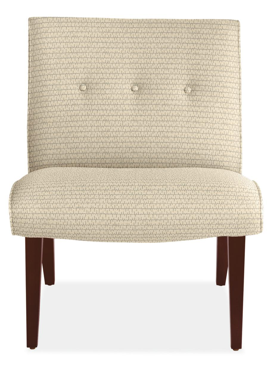 This jacquard chair normally goes for $849, but it's being discontinued.{ } (Image courtesy of Room & Board)