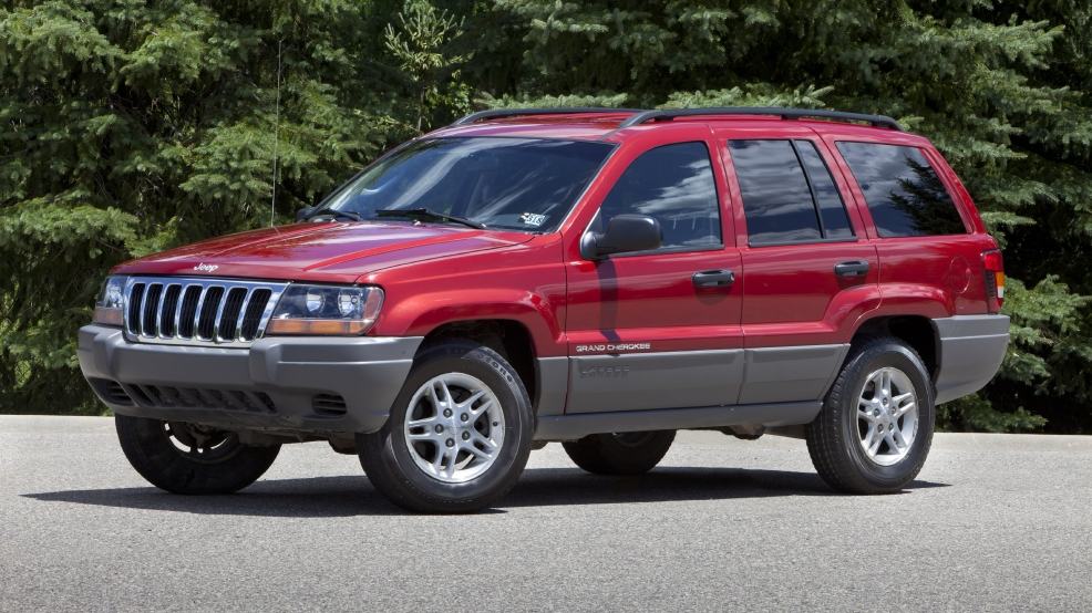 This undated file photo provided by Chrysler shows the 2002 Jeep Grand Cherokee. U.S. safety regulators are investigating whether a 2012 recall of 745,000 older-model Jeep Grand Cherokees and Libertys to fix air bags is working. The investigation affects Libertys from the 2002 and 2003 model years and Grand Cherokees from 2002 to 2004. (AP Photo/Chrysler, File)