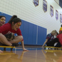 Mercy High School students get into Olympic spirit
