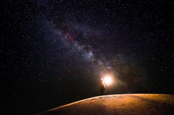 IMAGE: IG user @thereallando / POST: Lost in space.