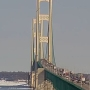 Mackinac Bridge is back open after being closed for falling ice