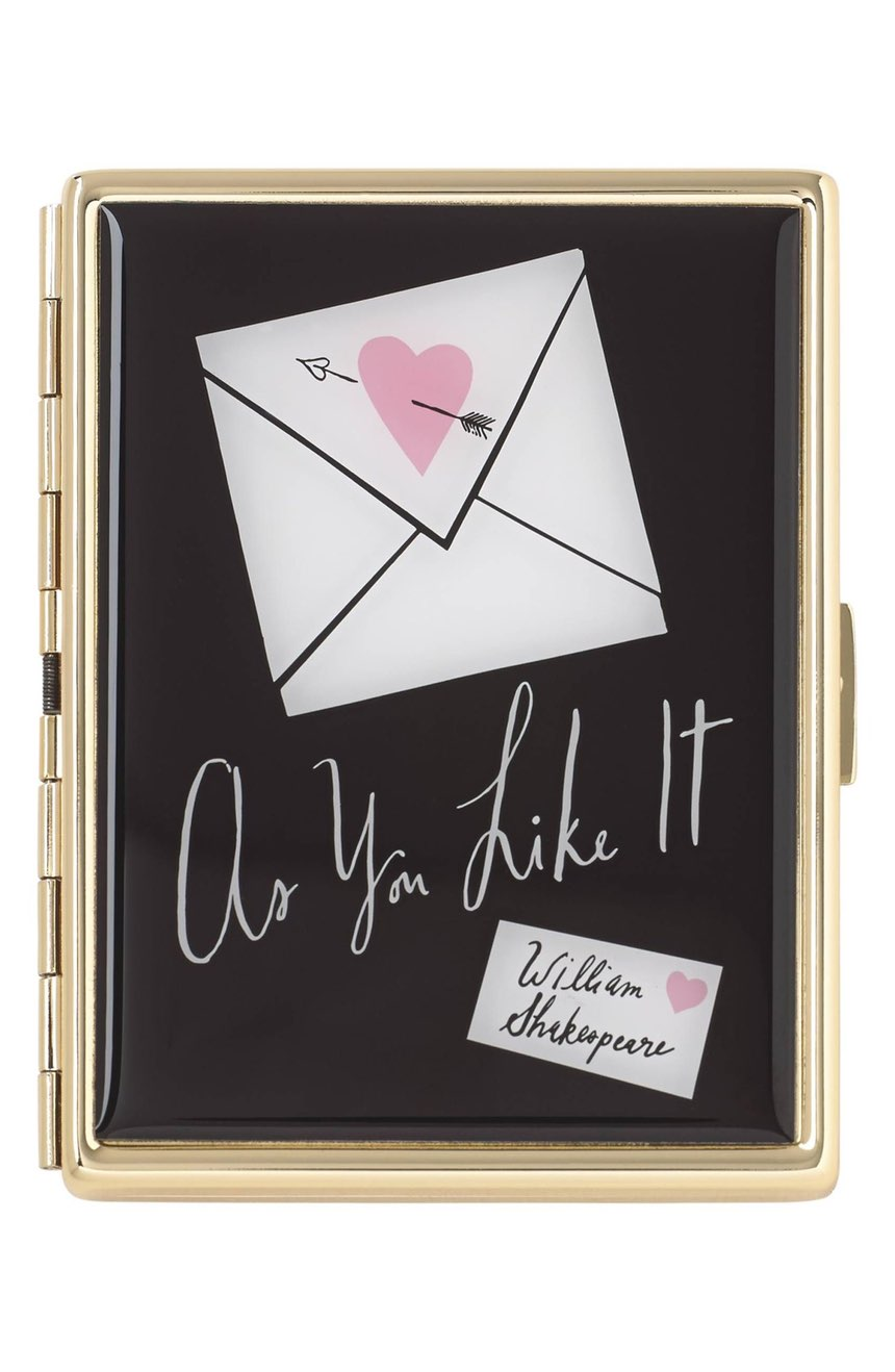 Kate Spade Literary ID Holder ($40). It's time to celebrate Momma.  Here is our Nordie's gift guide for items under $50! (Image: Nordstrom)