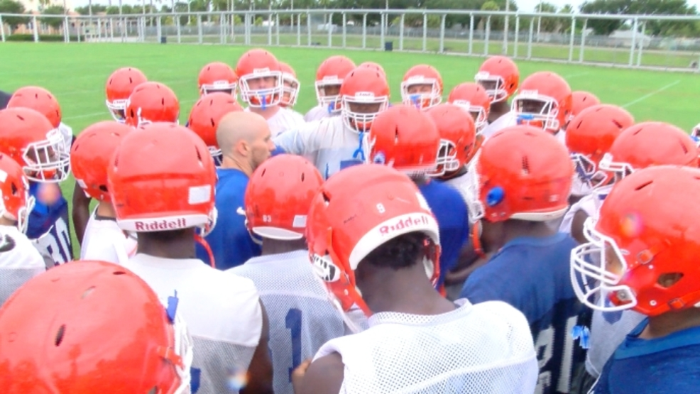 Young Palm Beach Gardens Football Team Has High Energy And