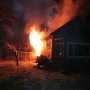 Early morning fire guts house in Lebanon