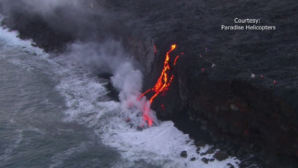 WATCH | Lava flows from Hawaii volcano | WJLA