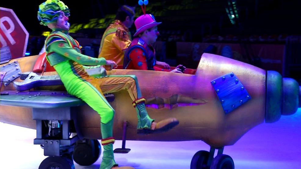 Ringling Bros. and Barnum & Bailey circus unveils new changes