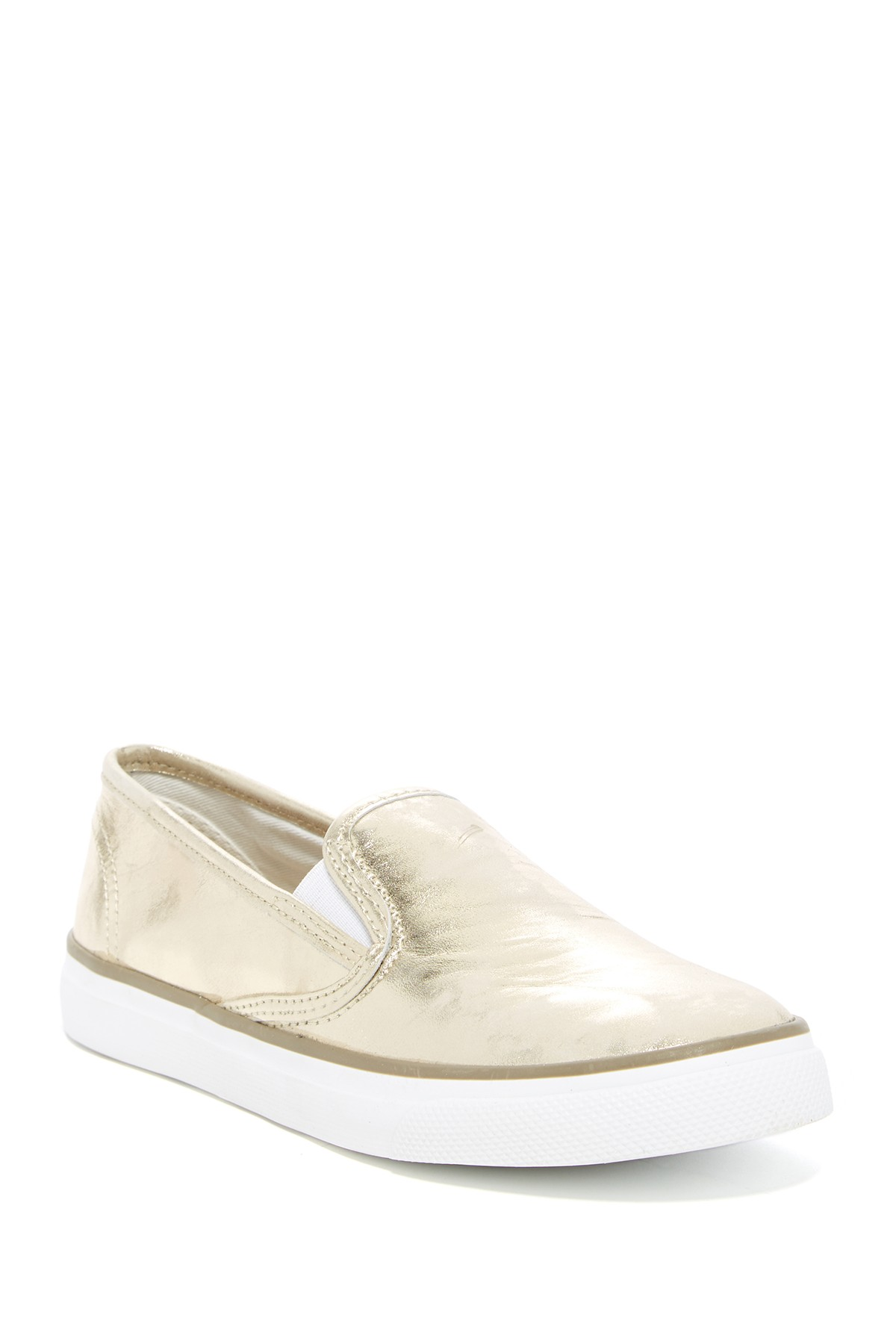 Sperry Seaside Metallic Slip-On Sneaker ($49.97). It's time to celebrate Momma.  Here is our Nordie's gift guide for items under $50! (Image: Nordstrom)