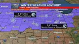 Heavy snow to hit central Illinois Monday and Tuesday
