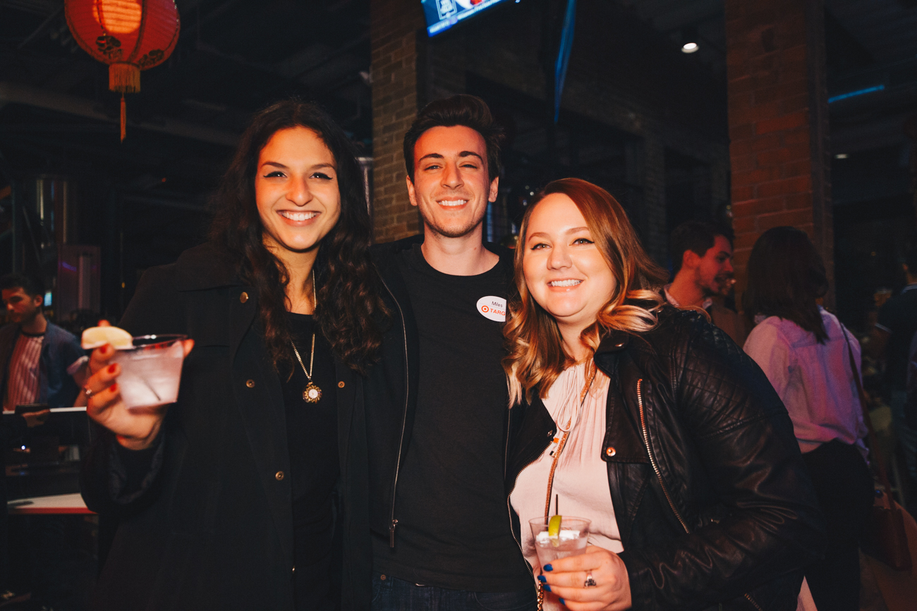 Katelyn Wahligman, Miles Hill and Jackie Kleinholz /{ }Image: Catherine Viox // Published: 2.3.19