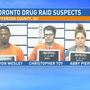 Two in custody after drug raid in Toronto