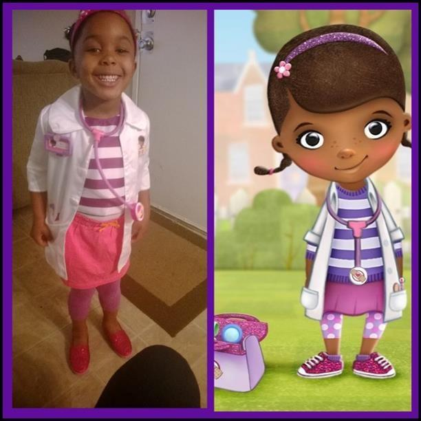 Kamryn as Doc McStuffins!