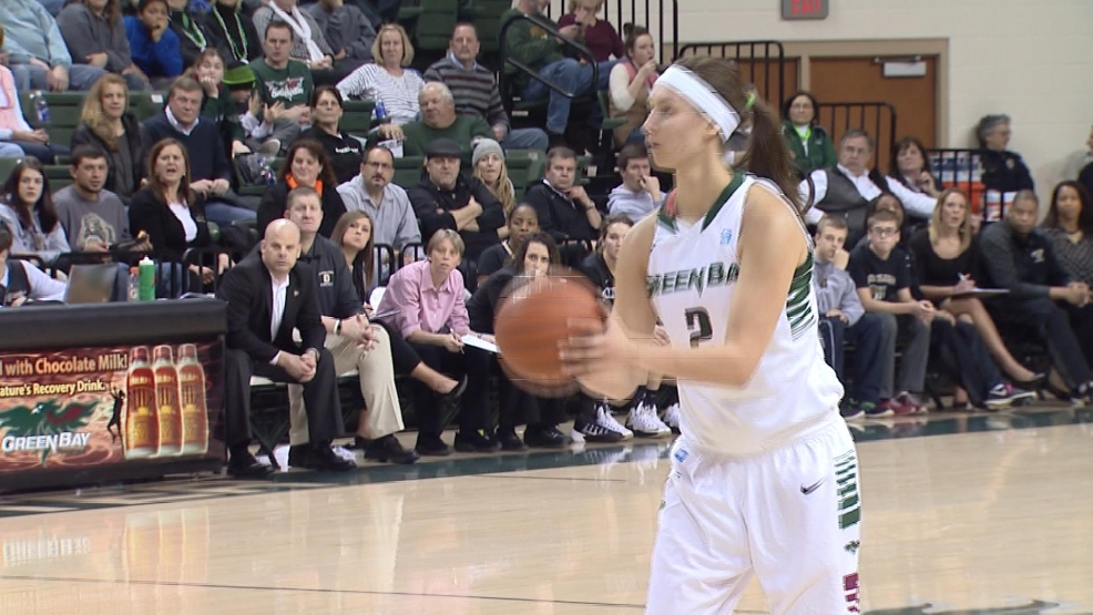 UW-Green Bay freshman Tesha Buck was named Horizon League Freshman of the Year. (WLUK)