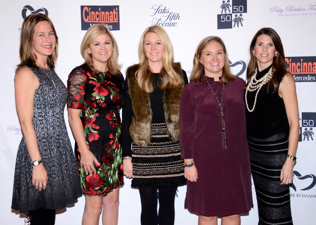 Event co-chairs: Jennifer Stuhlreyer, Jennifer Byer, Jen Bahl, Marissa Miller, and Macy Hansen / Image: Bob White