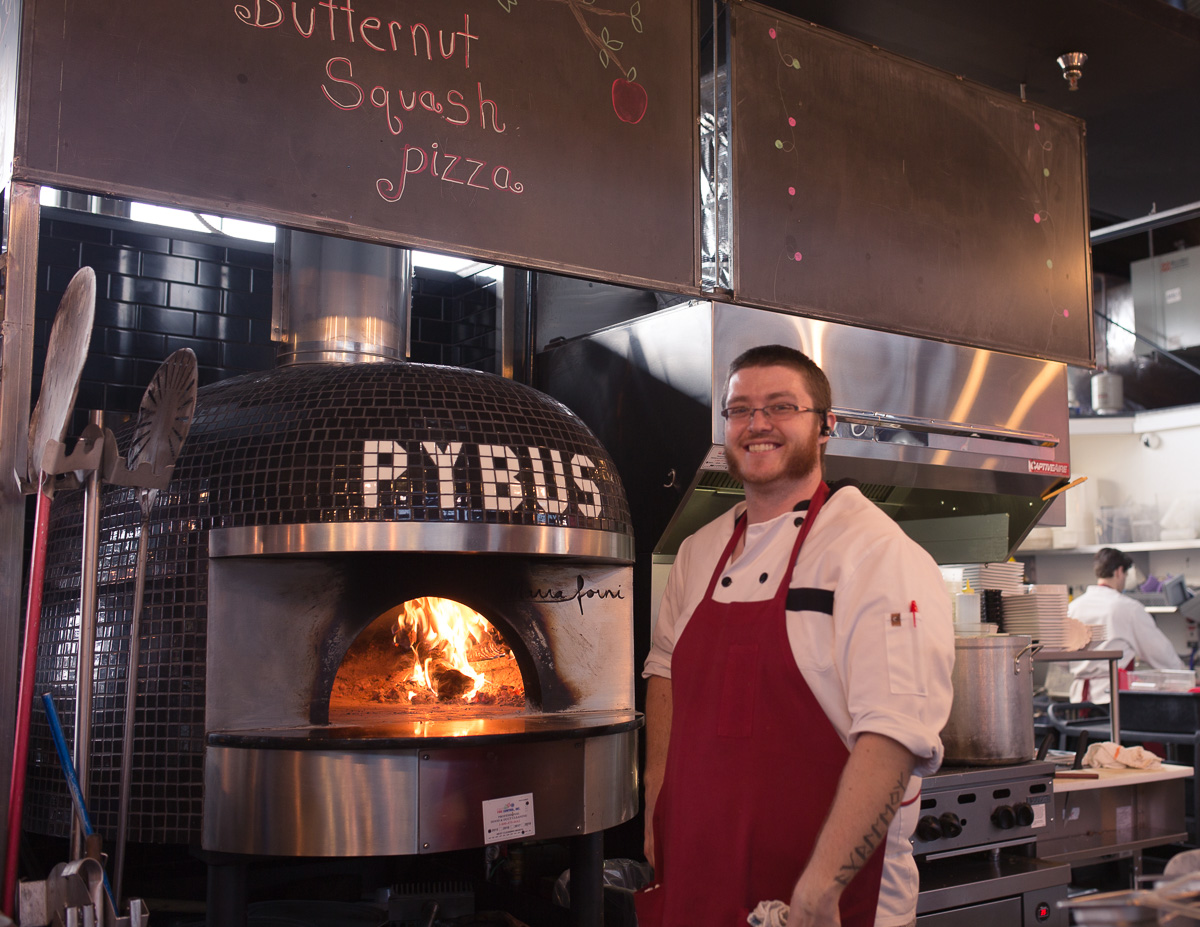 Fire at Pybus Market (Image: Paola Thomas / Seattle Refined)