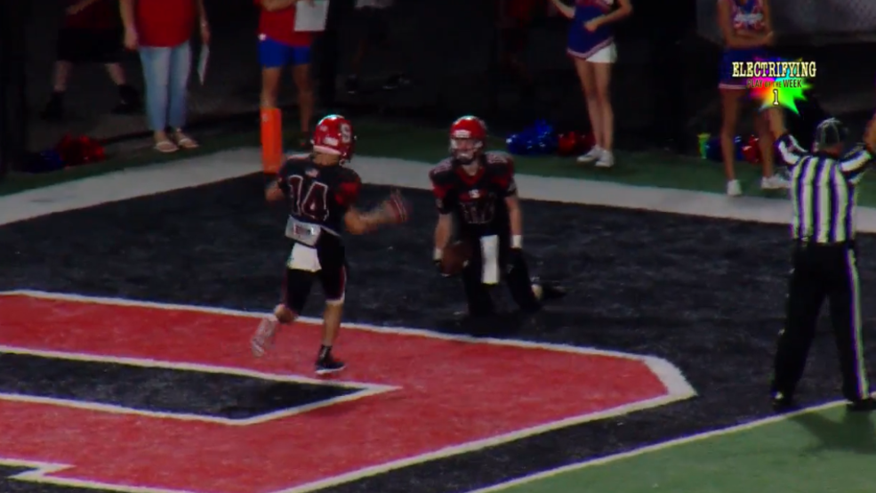Week 2 IBEW/WTOV9 Electrifying Play of the Week