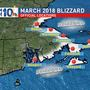 Historic March storm was official blizzard for some