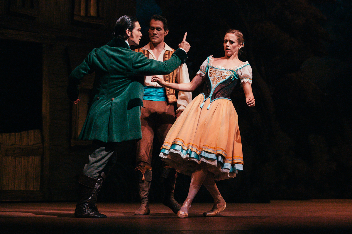 Pacific Northwest Ballet's 2011 production of Giselle has been staged by PNB artistic director Peter Boal, based in part on primary sources from Paris and St. Petersburg, with the assistance of dance historians Marian Smith and Doug Fullington. In 2014, new scenery and costumes designed by Jérôme Kaplan will be added to the production. Giselle runs from May 30th to June 8th 2014, you can find more information and get tickets at their website . May 29th 2014. (Joshua Lewis / Seattle Refined)