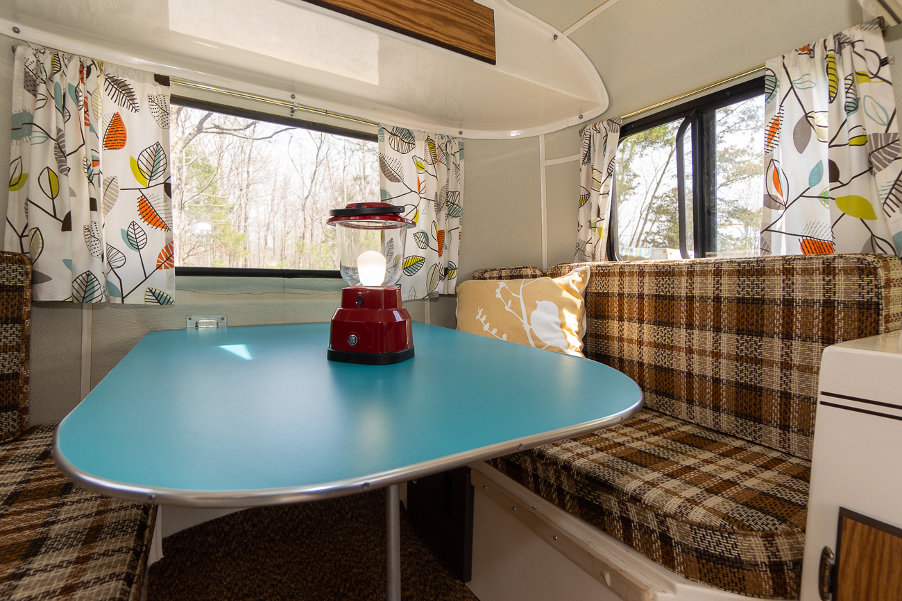CAMPER: 1985 Scamp / SLEEPS: Up to 4 / PRICE: $85 per night + $75 cleaning fee / Image: Josh Purnell // Published: 5.12.19