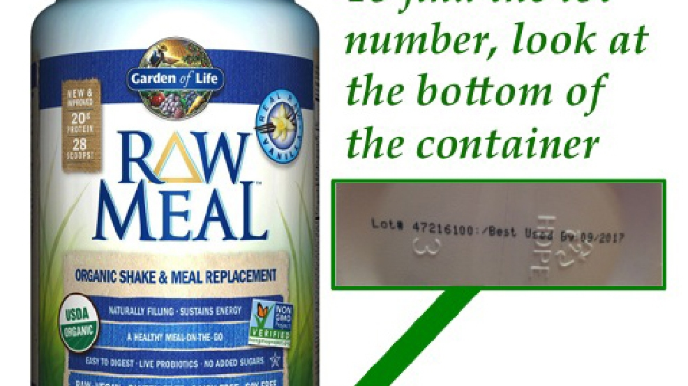 11 Sick 1 Hospitalized From Salmonella Found In Garden Of Life 39 Raw Meal 39 Protein Shakes Wpec