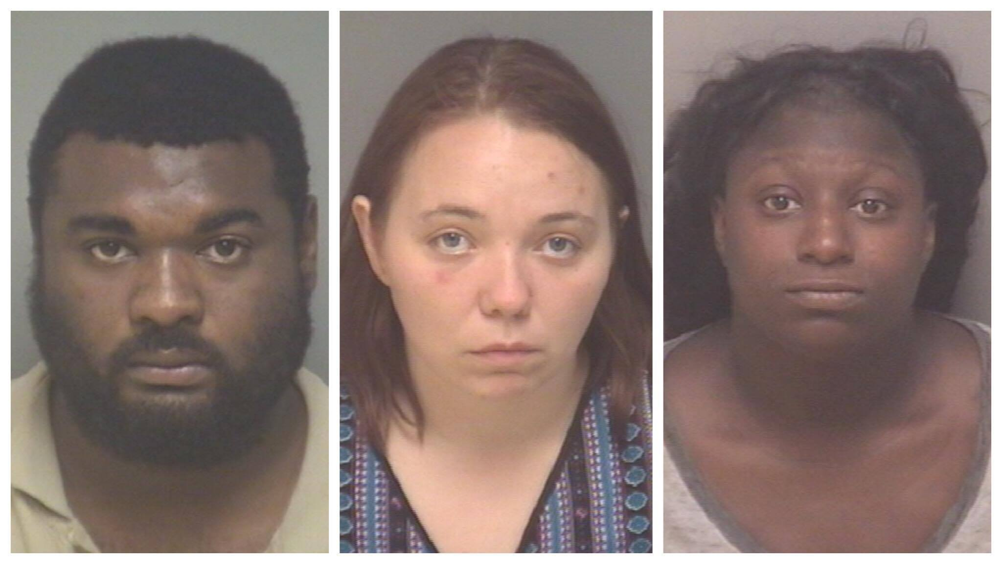 The Charlottesville Police Department says three people have been arrested after a disturbance near the downtown mall in Charlottesville Thursday (Photo: Charlottesville Police Dept.)<p></p>